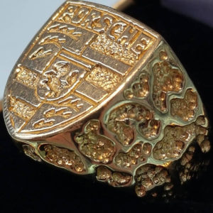 Custom Jewellery, porsche ring